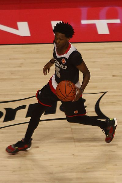 "De'Aaron Fox: ""an explosive athlete with eye-catching length"" (Photo: TonyTheTiger)"