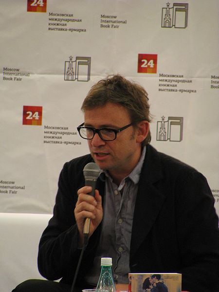 David Nicholls on the book tour for his previous hit, 'One Day'. The European travel formed the backdrop for 'Us'. (Photo: putnik)