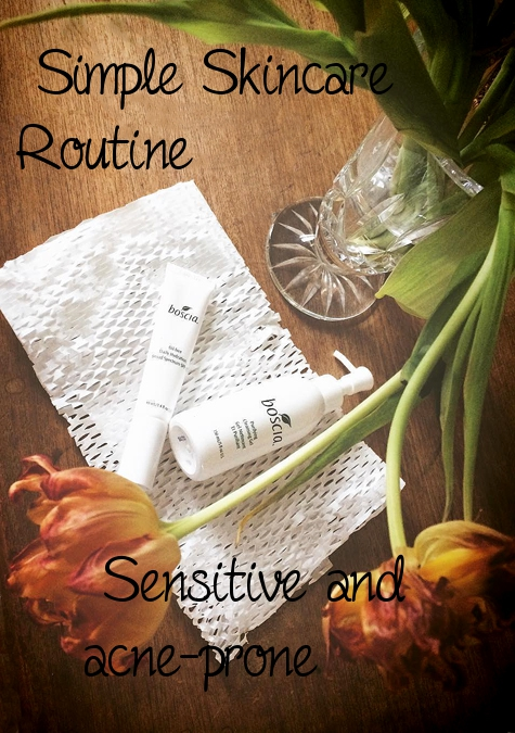 simple skincare routine boscia review