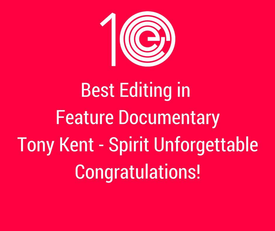 Best Editing in Feature Documentary