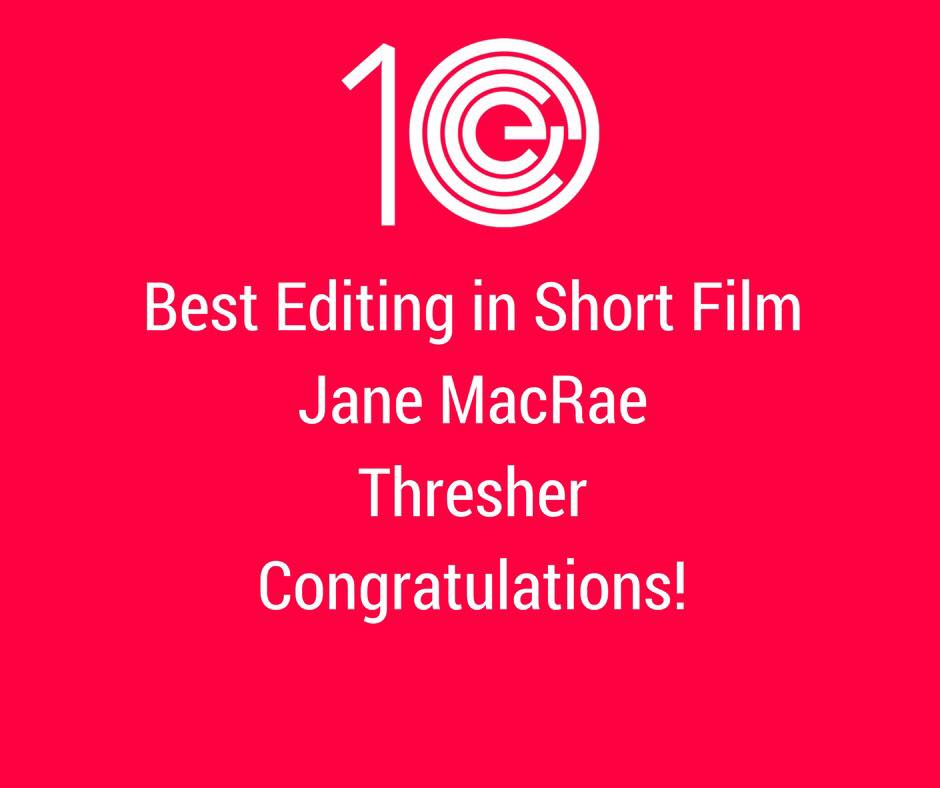 Best Editing in Short Film