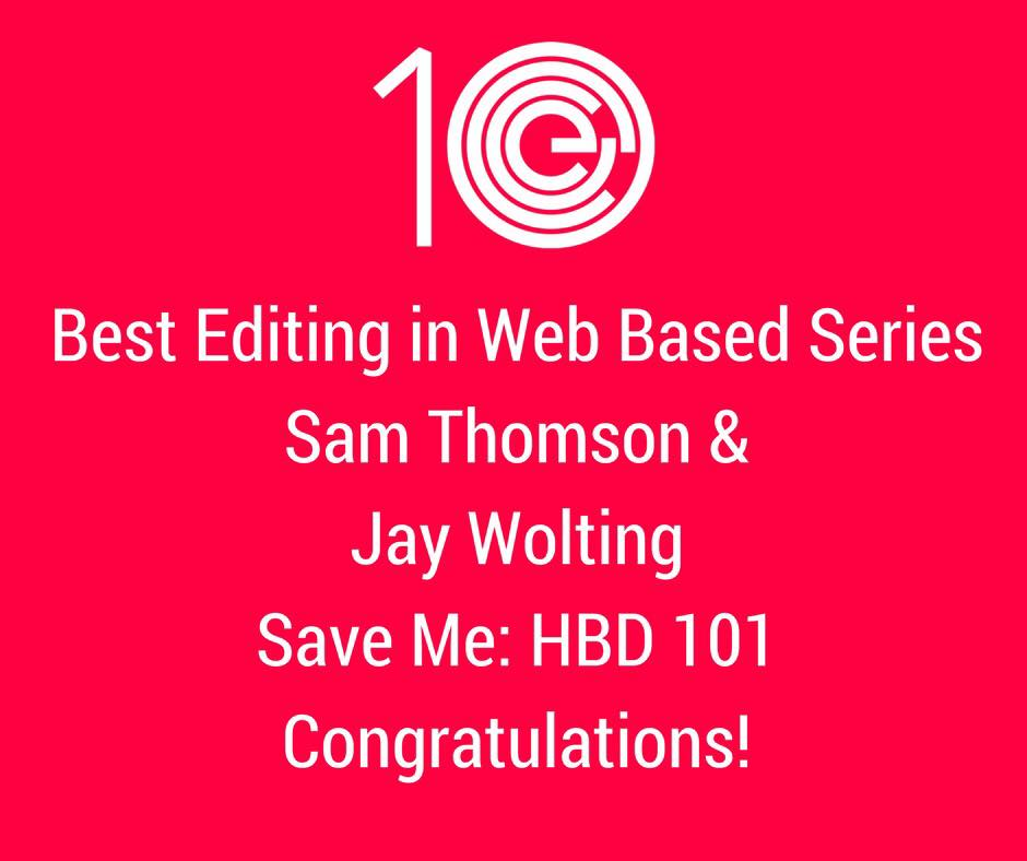 Best Editing in Web Based Series