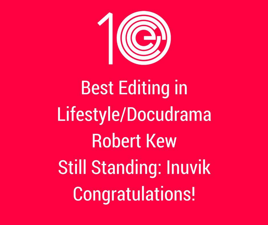 Best Editing in Lifestyle/Docudrama