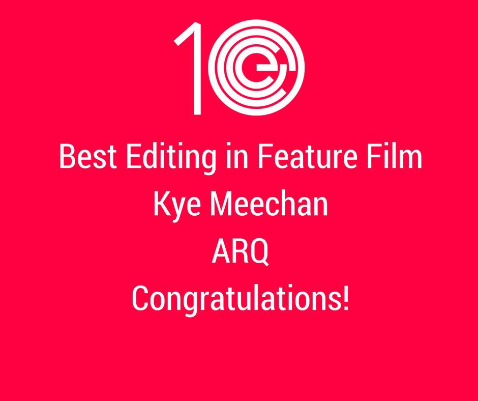 Best Editing in Feature Film