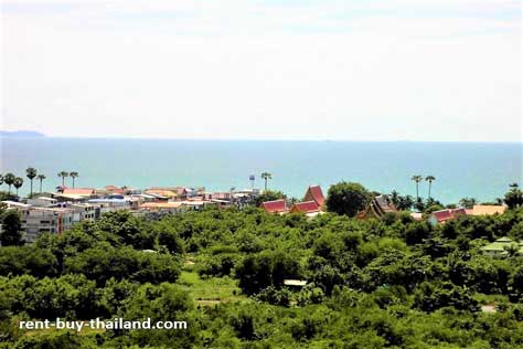 Sea view property Jomtien