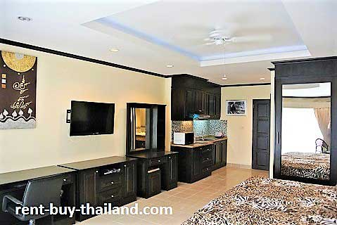 Rent studio Jomtien