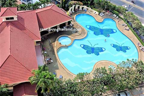 High floor studio Jomtien