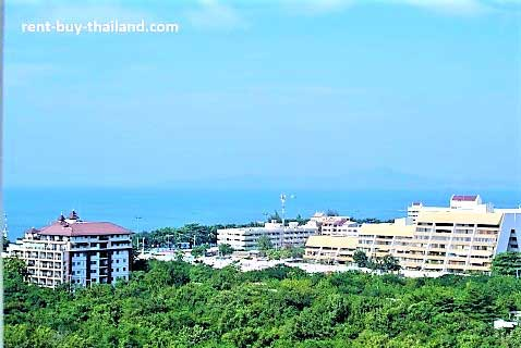 Sea view apartment Thailand