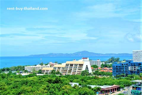 Sea view apartment Pattaya