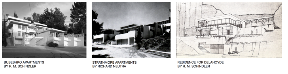 Architectural Design Cues: Rudolph M. Schindler, Hillside Projects in Los Angeles circa 1930