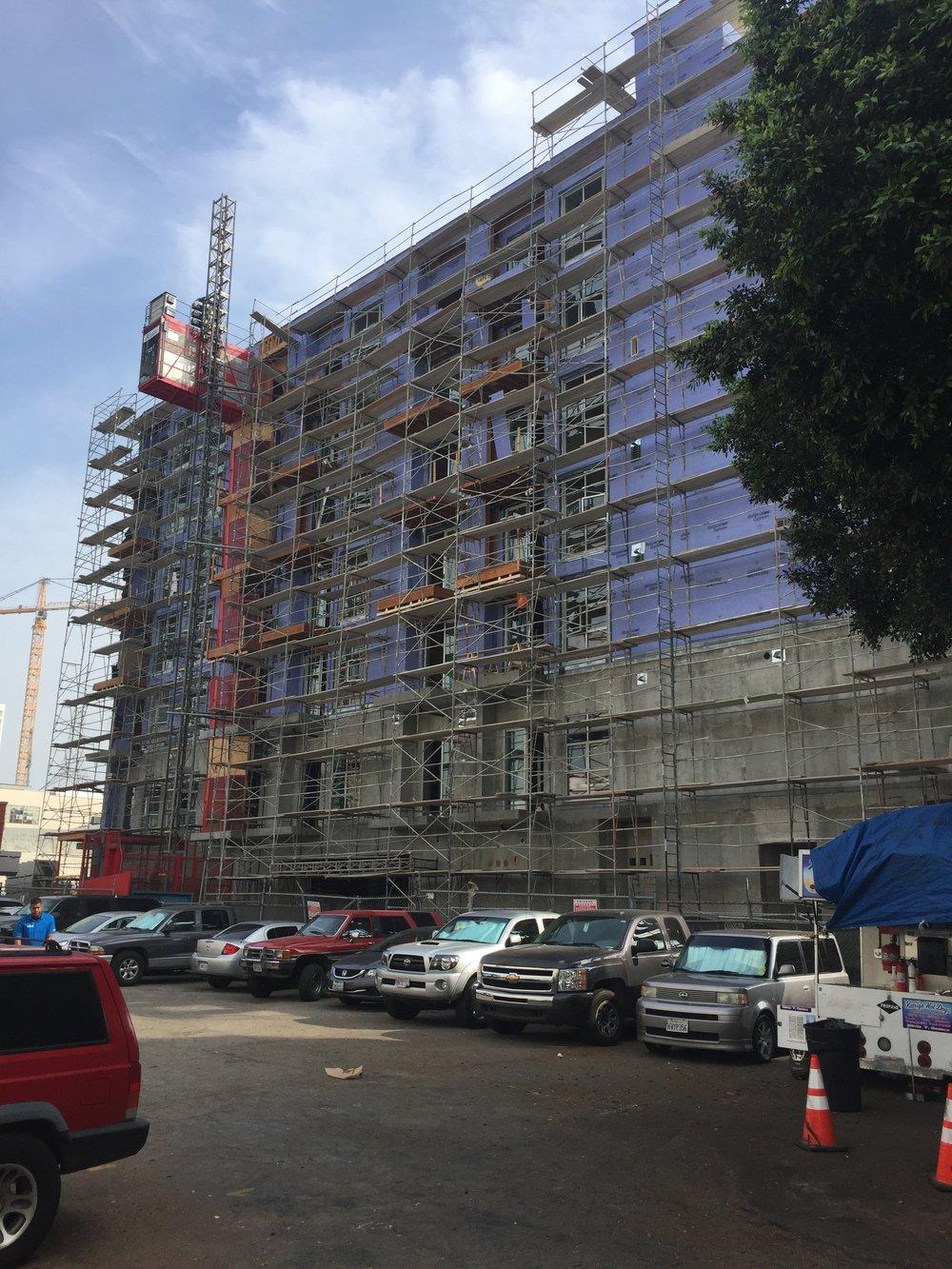 Facade Construction II, Exterior Finish Prep