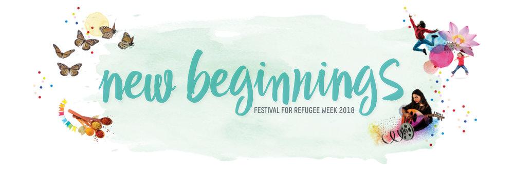 New Beginnings Festival for Refugee Week 2018