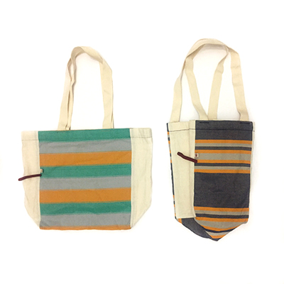 Benam and Co. bags - These bags are the best companions for a long day at the beach. Throw a towel, book and your favorite cocktail mixers in these two beauties and you're ready to go!