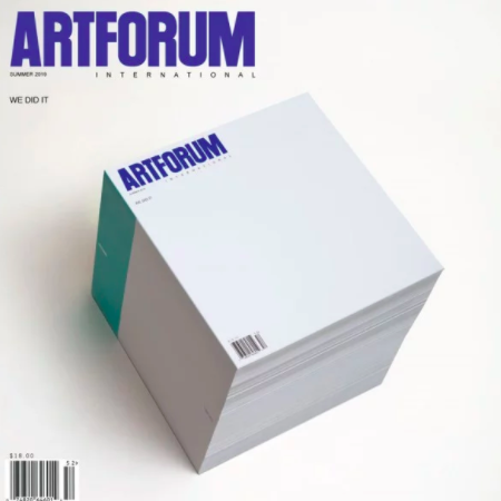 Writing at Artforum -