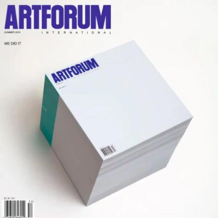 Writing at Artforum -