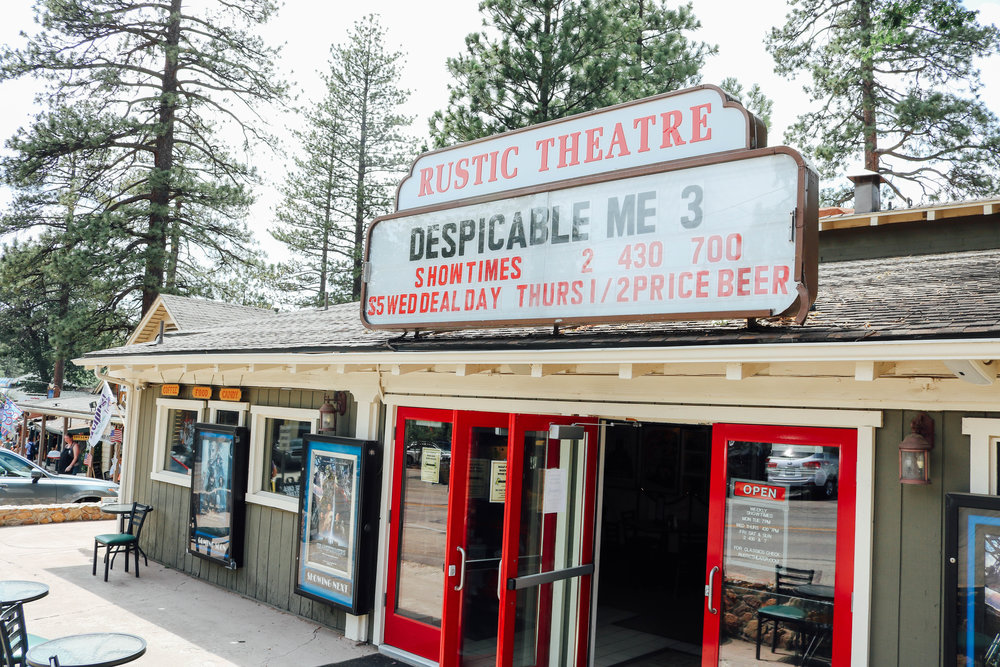 Rustic Theatre Idyllwild, CA
