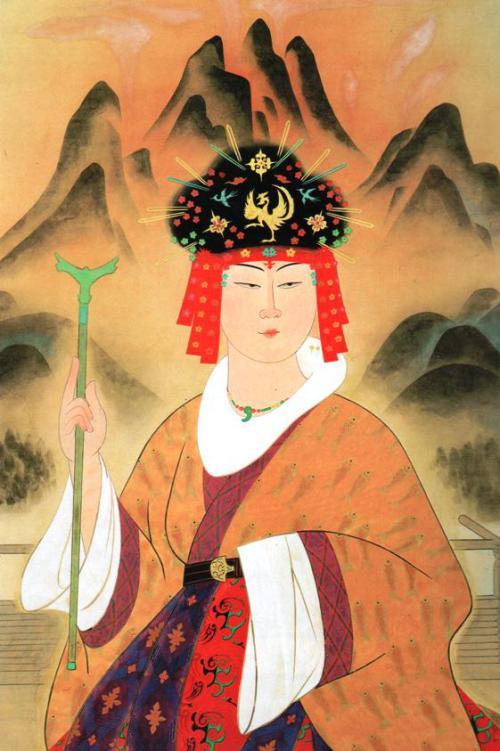Queen of Yamataikoku Classical portrait painting by Yasuda Yukihiko Source: Wikipedia