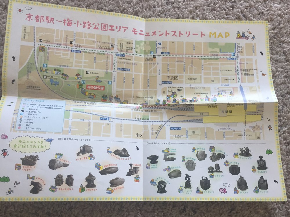 statue maps