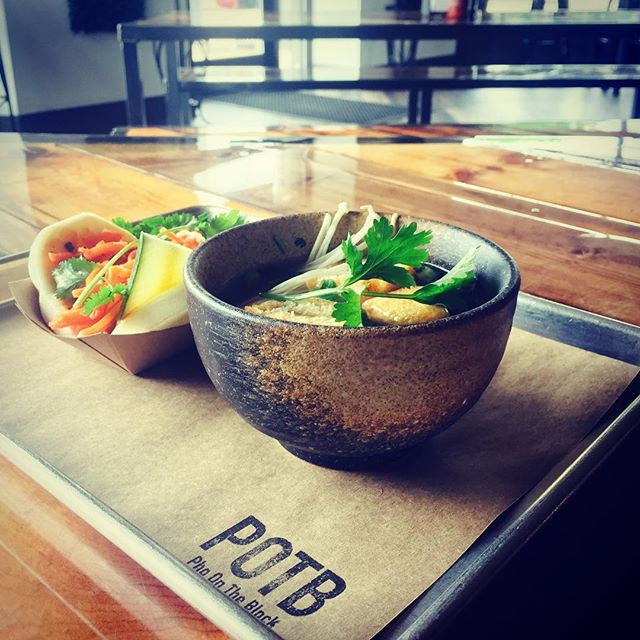 Tomorrow's special- come try our half bowl of pho and one bao of your choice for only $10  #wednesdayspecial #foodlovers #kalamazoofoodies #potb #edisonneighborhood #kcollege #wmu