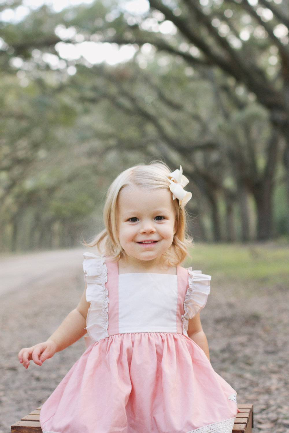 Wormsloe Plantation Family Session