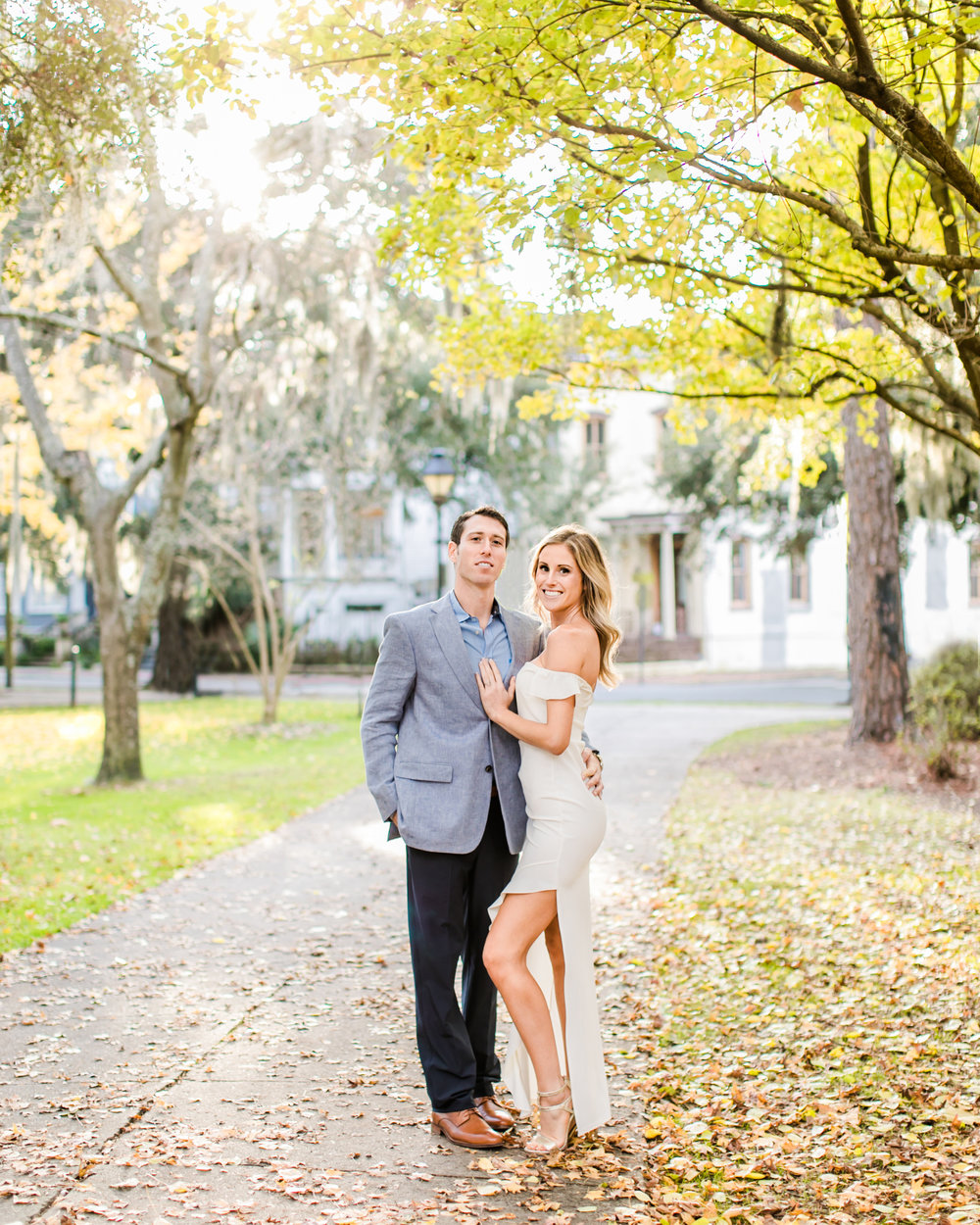 Best Locations For Engagement Photos in Savannah