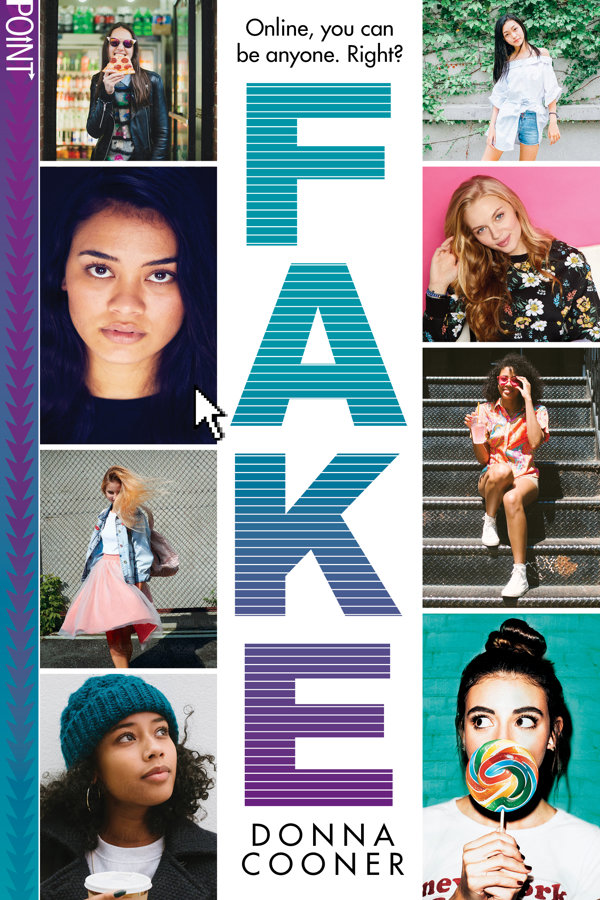 FAKE releases October 1 - Maisie Fernandez is fed up. Fed up with the bullies who taunt her about her size and her looks. Fed up with being the butt of everyone's jokes.So, one night, Maisie goes online and creates a fake profile. But as Maisie's web of deception grows, she's in danger of being exposed. And what will happen when the girl whose photos Maisie has been using shows up in real life?Pre-order FAKE now:AmazonBarnes and NobleIndiebound