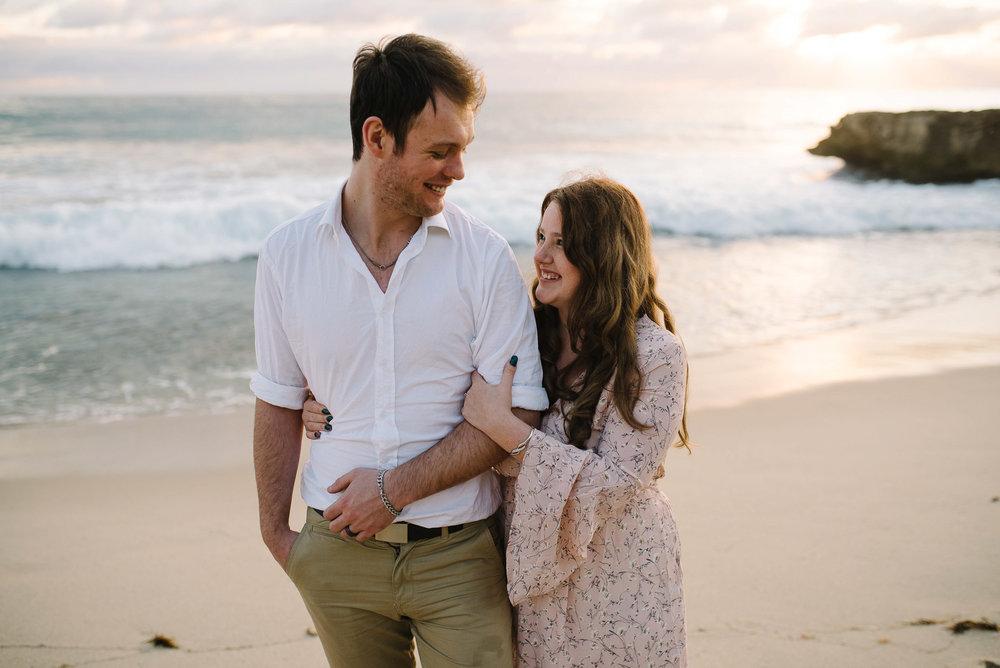 21-beach sunset perth engagement photography.jpg