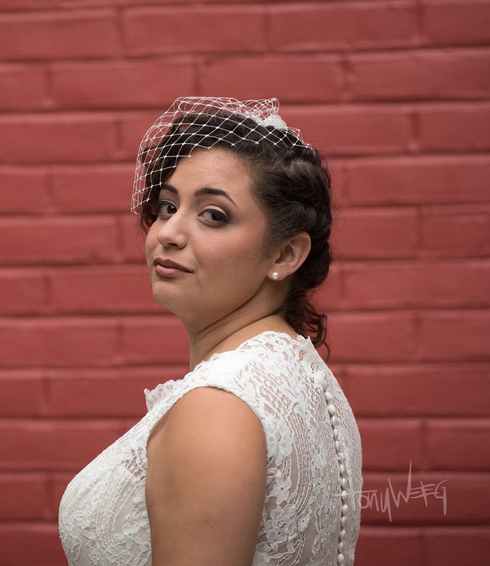 The beautiful, classy and (ahem) elegant -- Claire Hernandez Bankert #coolestbride