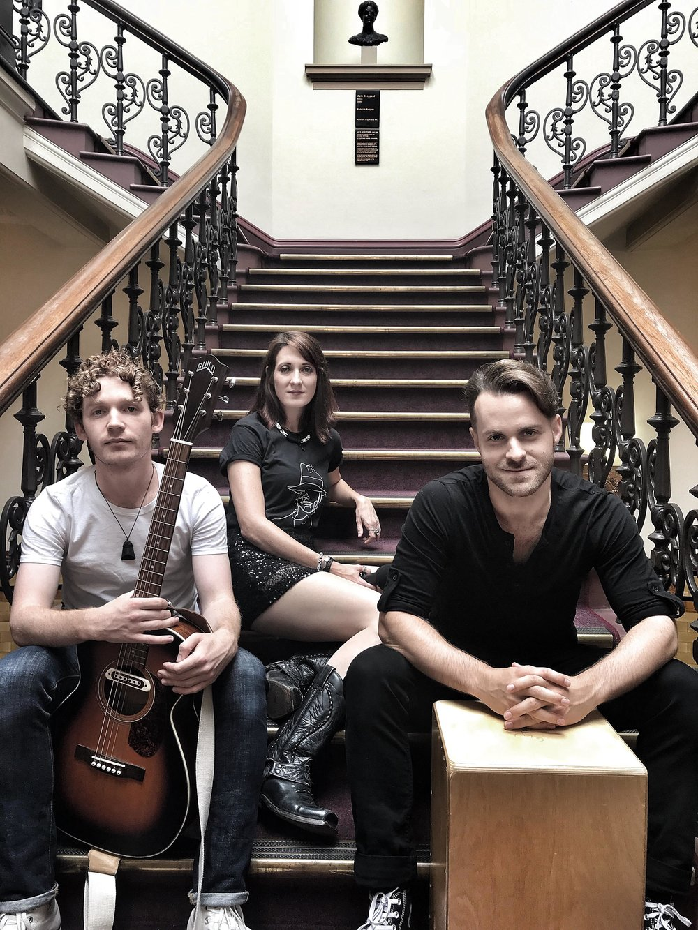 The Dead Travellers @ The Auckland Town Hall as part of the Outsider Sounds/Auckland Fringe Festival.