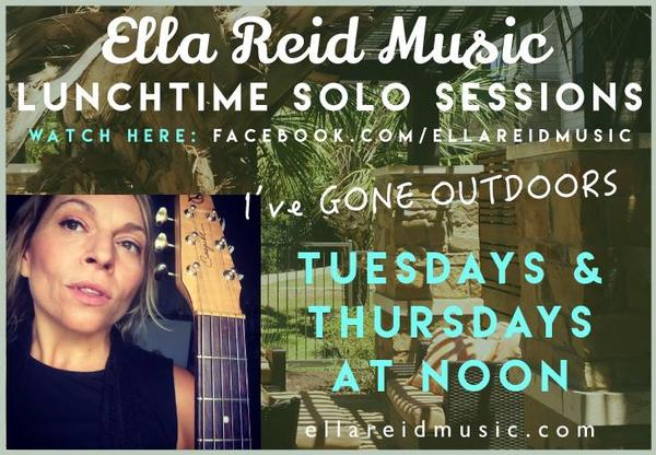lunchtime Solo Sessions are back