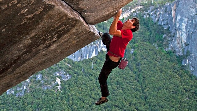 Alex Honnold takes on El Capitan. From the documentary  Free Solo  ©2018.