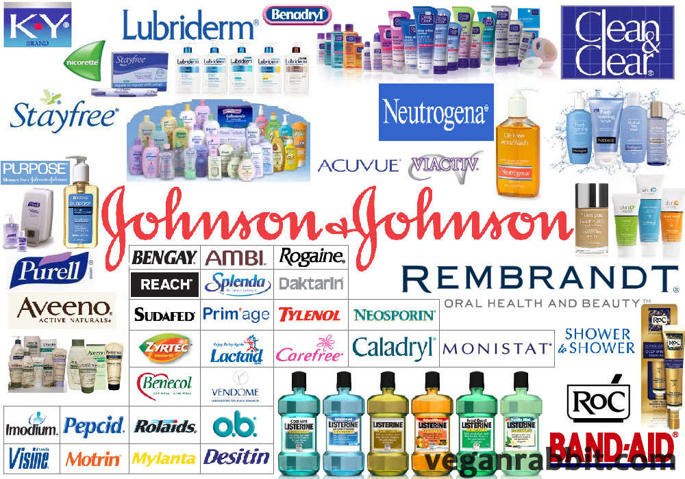 Johnson & Johnson brands