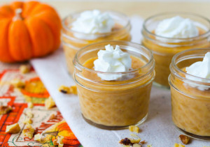Five Ingredient Pumpkin Pudding