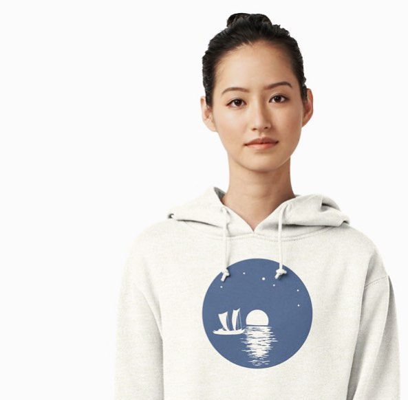 """We are [all] descended from voyagers."" #outrigger #canoe #hoodie #linkinbio #apparel #buynow @redbubble"