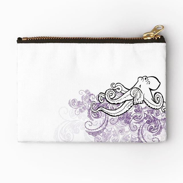 Design is anything you can th(ink) of. #design #illustration #coins #pouch #buyme @redbubble #linkinbio (also snag this on a #Tshirt or other #apparel )