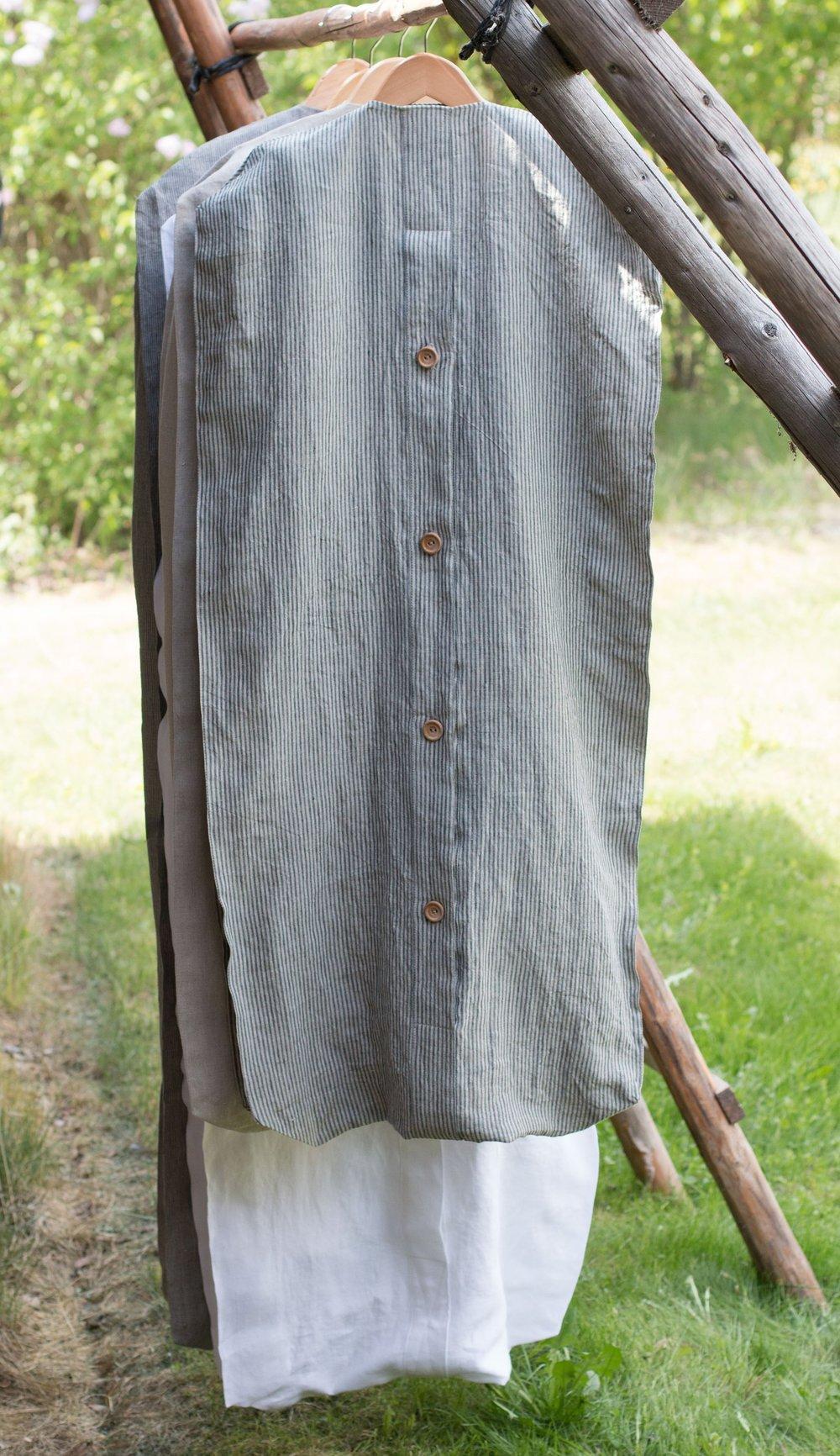 Linen Dress Bag