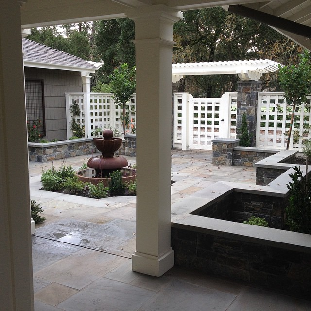 Call us for a free estimate!  #pimpyourbackyard #cklandscape #freeestimate #homeimprovement #landscaping #landscapers