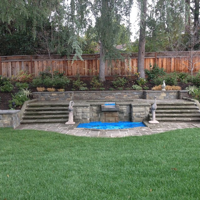 Water feature #landscaping #landscapers #fountain #homeimprovement #backyards #bayarea