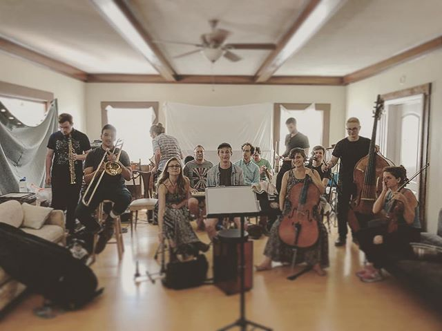 today was a truly beautiful experience. we started the los angeles conduction ensemble. people from all different parts of my life were there, and we were all making music together. can't wait for more !!! ❤️