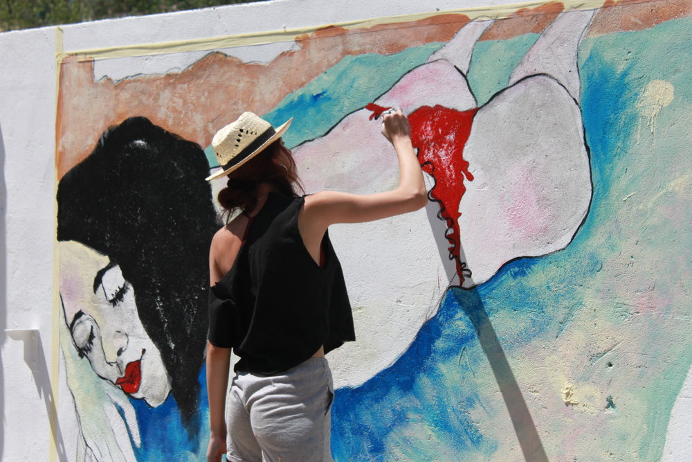 mural arts women