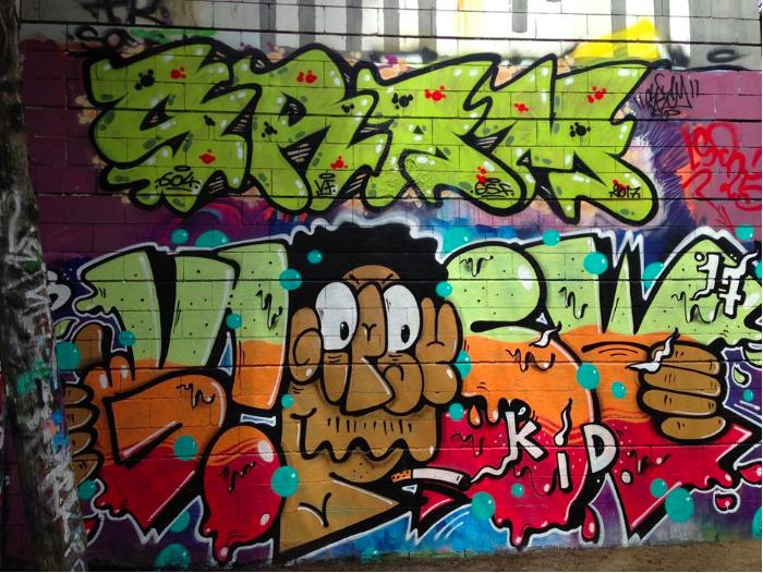 Sram 23 and Gipsy Kid in Barcelona
