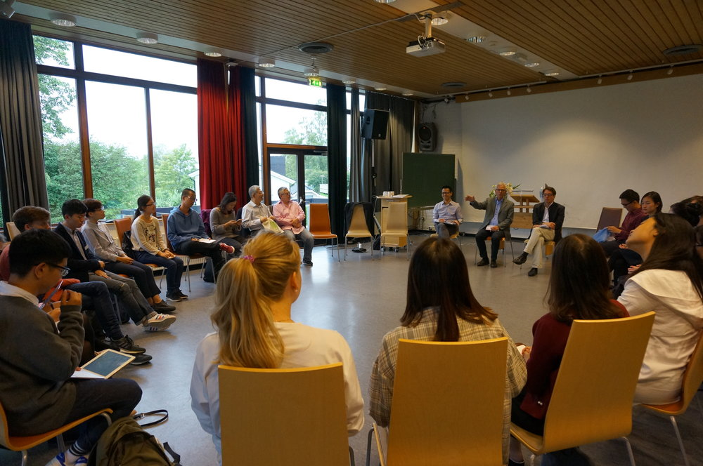 Panel discussions, lectures and workshops -