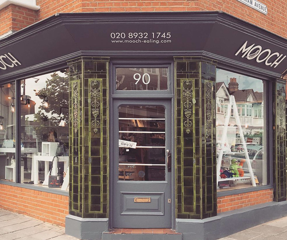 Mooch is an award-winning independent gift shop based in Ealing, West London  -