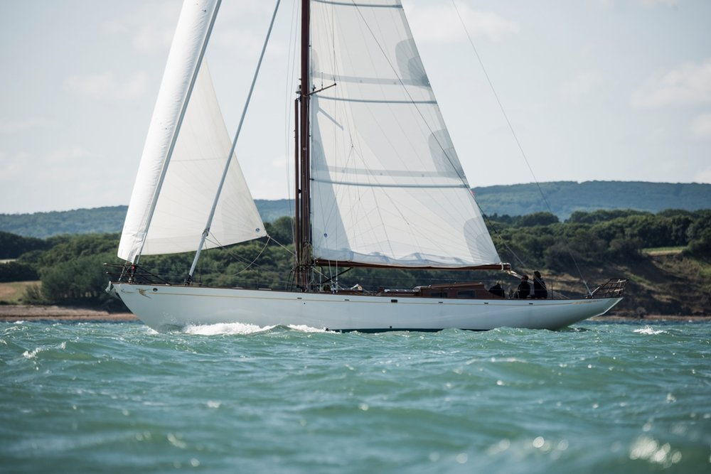 Fairlie 53 sea trials in the Solent