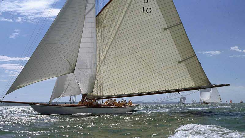 The Lady Anne restored by Fairlie Yachts
