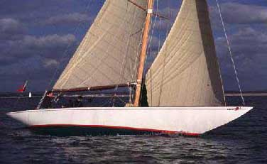 Carron II on starboard