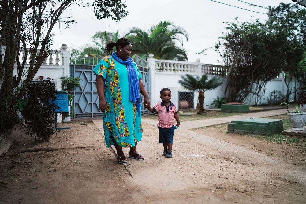Madie Louvila | Gestionnaire du refuge Mwana Pointe-Noire