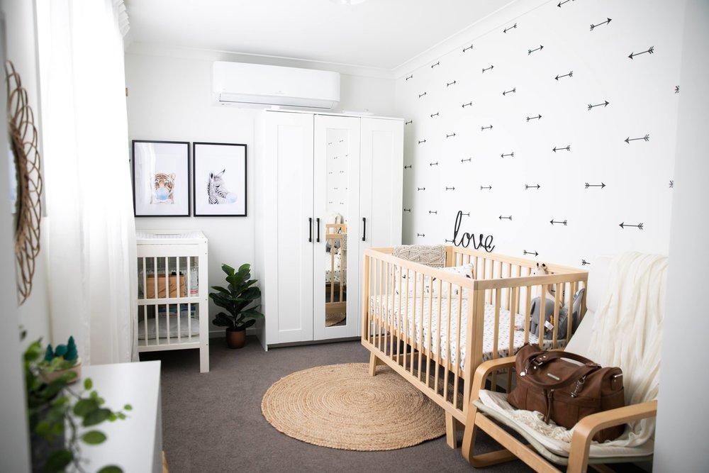 Study turned Nursery for Finn..