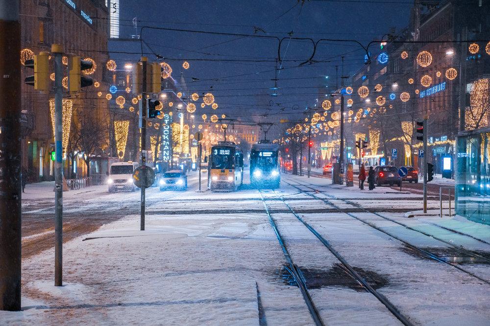 冬のヘルシンキ。(photo from Unsplas)