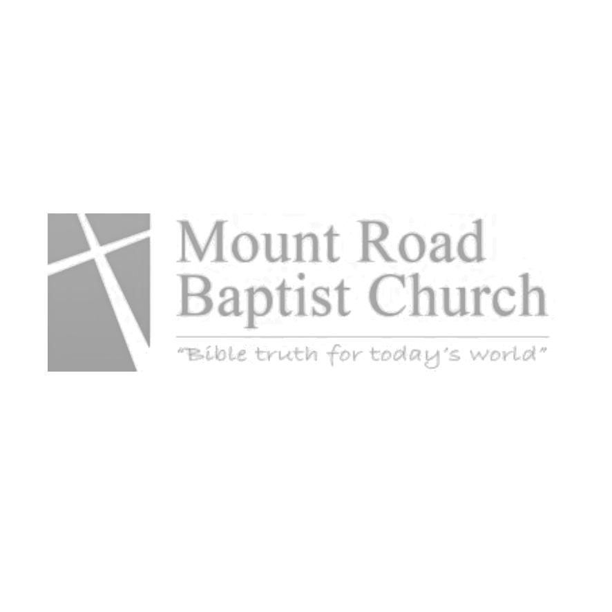 MOUNT ROAD     www.mountroadbaptist.org   Mount Road Hinckley LE10 1AD